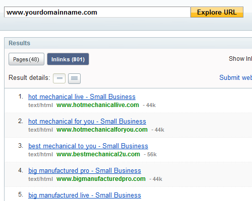 yahoo-site-explorer-results