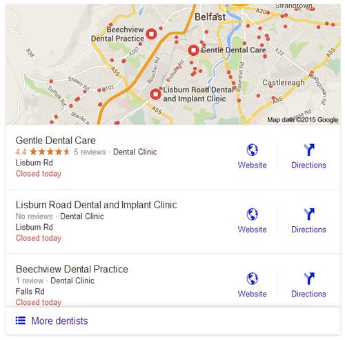 dentist belfast 3 pack